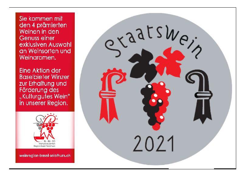 Die Staatsweine 2021 sind im Degustations-Paket erhältlich